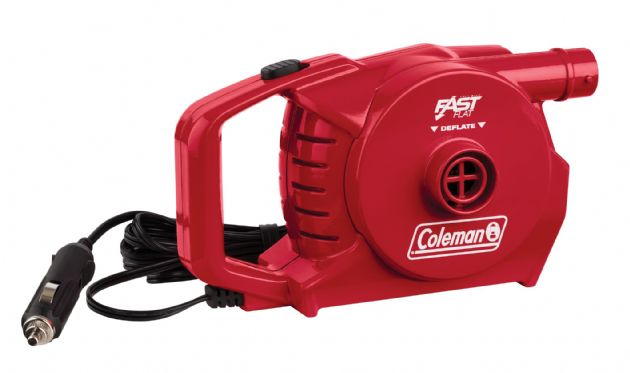 Coleman 12v Quickpump Airbed pump, Air pump - Grasshopper Leisure
